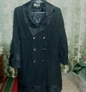Продам осеннее пальто размер 46