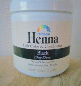Хна, растительная краска для волос и кондиционер