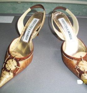 Туфли натуральная кожа-Италия р-37