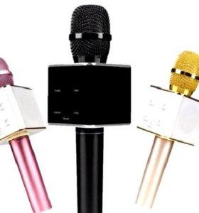 Безпроводной караоке микрофон