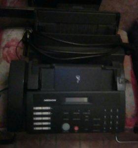 """Телефон-факс,,Medion"""".Комплектен(на запчасти)"""