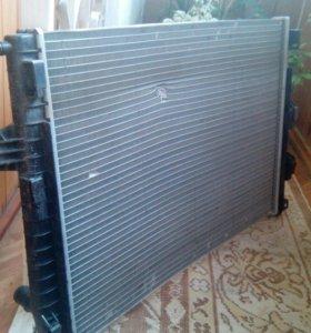 Радиатор на Рено Флюенс