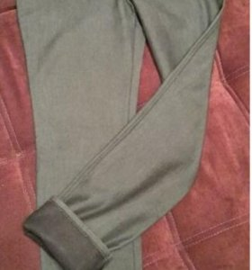 Новые утепленные брюки 46-48