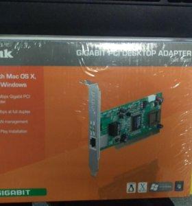 Сетевой адаптер D-Link GIGABIT PCI DESKTOP ADAPTER