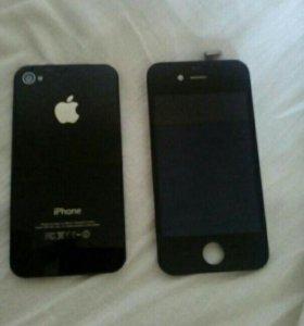Дисплейный модуль на iphone 4s