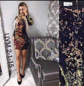 Новое платье с пайетками