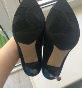 Замшевые туфли Paoletti