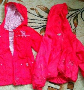 Куртка детская на девочку 92 см