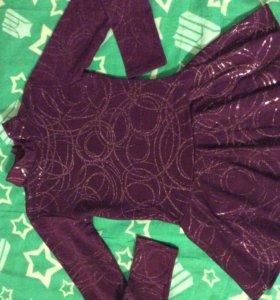 Платье для выступлений по фигурному катанию 110-11