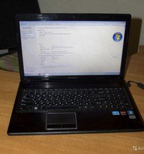 Мощный ноутбук Lenovo IdeaPad g570