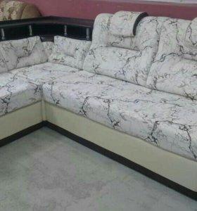 Продаю по заказу угловой диван. В Якутске.