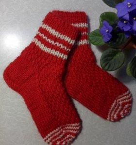 Носки ручной работы