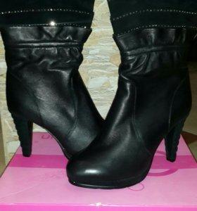Ботиночки осенние кожаные 40 размер