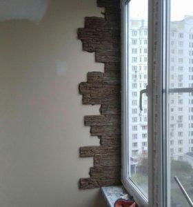 Шкафы на балкон, отделка балконов