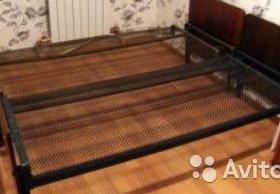 Продам железный панцирные кровати