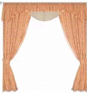 Готовый комплект штор