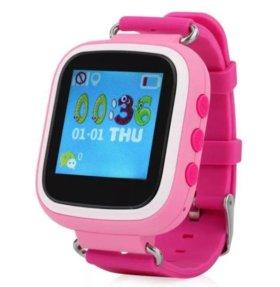 Детские умные смарт часы Q 60 s GPS