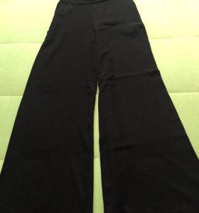 Брюки-юбка чёрные