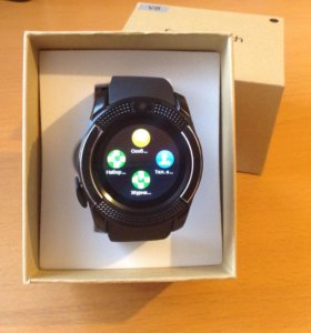 Новые умные часы v8