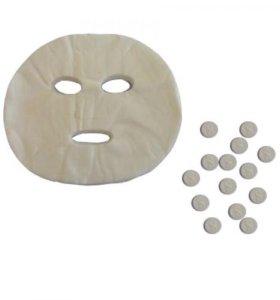 Маска-таблетка для косметических процедур.