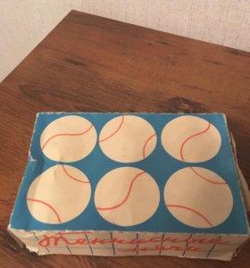 Набор теннисных мячей Нева. Винтаж.