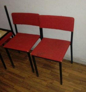 Парты, стулья даром- самовывоз