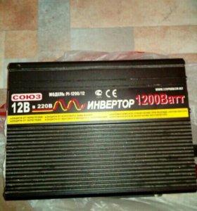 Преобразователь 12-220v 1200ват