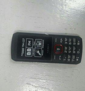 Новый телефон Texet TM-127