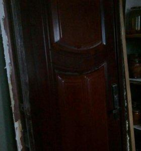 Дверь металлическая б\у