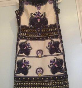 Платье из 100% шелка