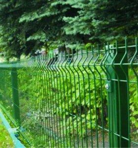 Модульные панельные ограждения (забор)
