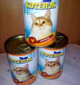 Котёнок консервы