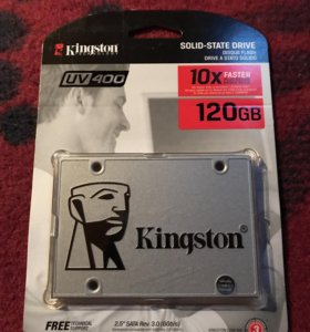 Новый SSD 120 Gb Kingston