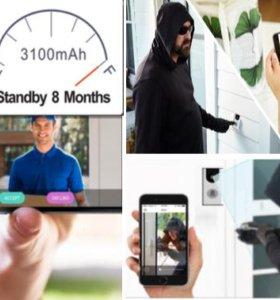 Беспроводной смарт-видео 720P Видеодомофон
