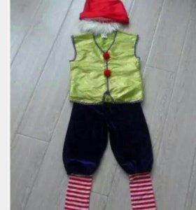 Гномик новогодний костюм