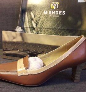 Новые кожаные туфли 36р.