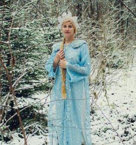 Карнавальные костюм Зима, Снегурочка. Прокат