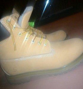 Ботинки Тимберленд (мех)