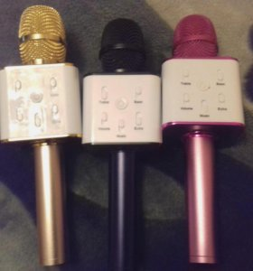 Блютуз караоке микрофон