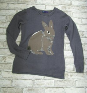 Милый свитер кофта