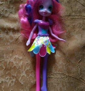 Куклы Пинки пай и Искорка, My little pony, Хасбро
