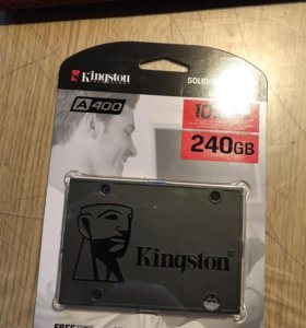 Новый SSD 240Gb Kingston