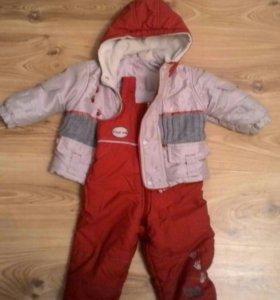 Куртка и комбинезон для девочки