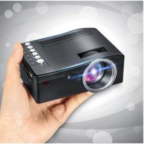 Mini Projector 1080P HD Multimedia LED AV VGA