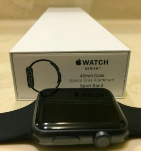 Apple Watch 1 series 42mm Space gray