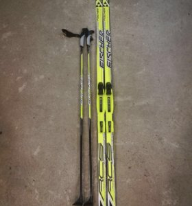 Лыжи  и ботинки Fischer