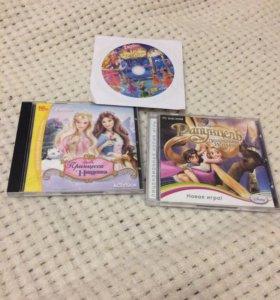 Компьютерные игры для девочек Барби Рапунцель