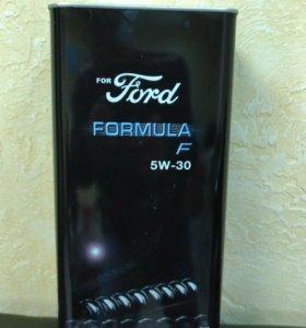 Масло в жестяной банке Форд