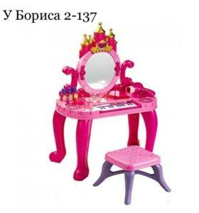 Детское пианино с зеркалом
