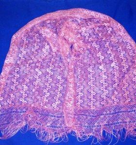 Кружевная накидка/кружевной шарфик